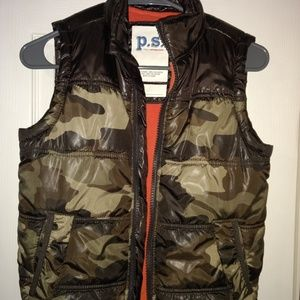 P.S. by Arepostale Camo Puffer Vest
